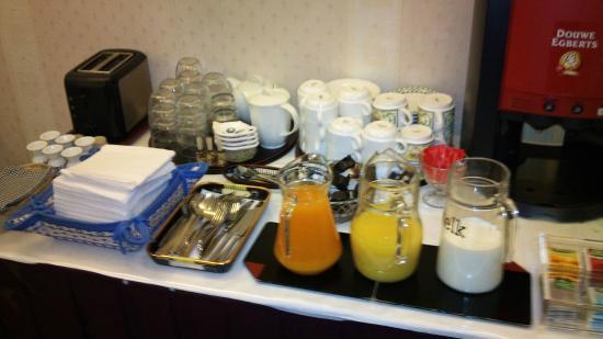 Hotel Verdi: desayuno
