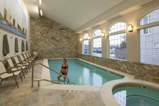 Stage Neck Inn: In 2012 we removed our indoor pool and totally reconstructed it.