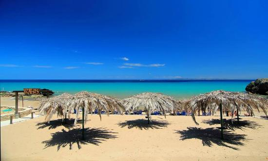 Vasilikos, Griekenland: No is not Caribbean.Is amazing Vrahos Beach