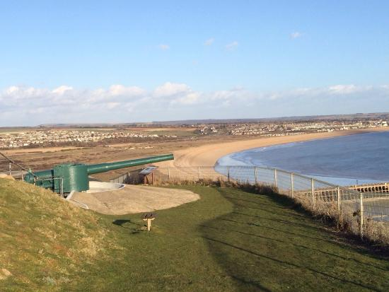 View from newhaven fort