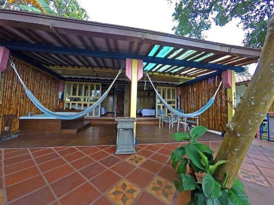 Terraza Cabaña Picture Of Ecohotel Spa Paraiso Verde