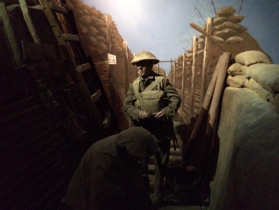 Newhaven Fort: World War One exhibit
