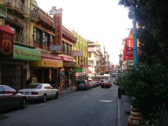Downtown, na parte de Chinatown