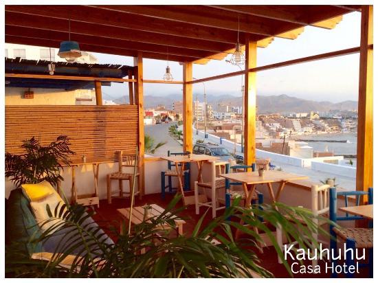 Terraza En Zona De Piscina Picture Of Kauhuhu Casa Hotel