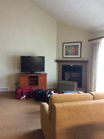 Marriott's StreamSide Birch at Vail: living room