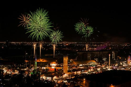 Transalta Grandstand Show Picture Of Calgary Stampede