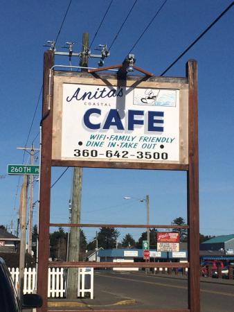 Anita's Coastal Cafe: Ocean Park Washington