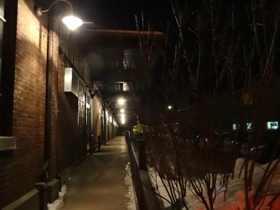 Elixir Restaurant: Depot building
