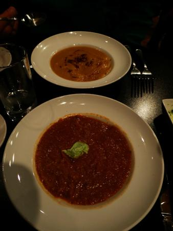 Elixir Restaurant: Rutabaga Bisque and Special soup