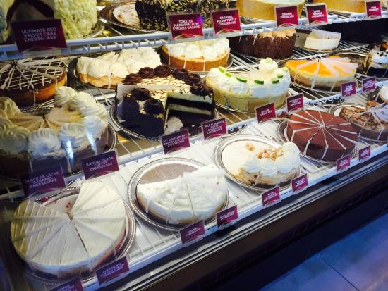 The Cheesecake Factory : Kind of cheesecakes
