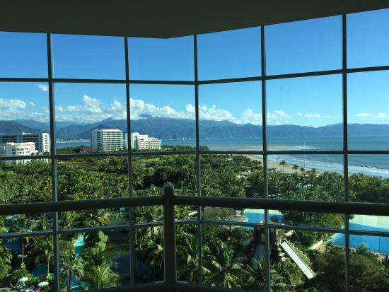The Grand Mayan Nuevo Vallarta : Spectacular view from our landing.