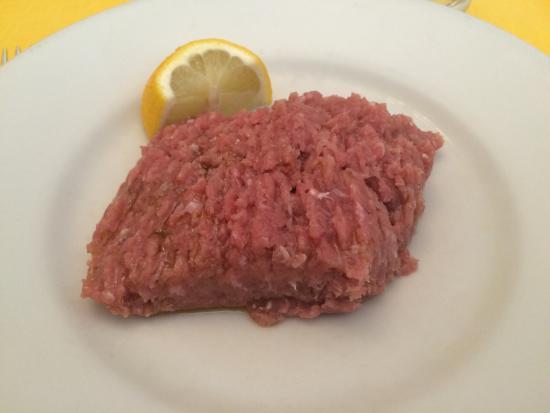 Ristorante del Peso : Carne cruda al coltello