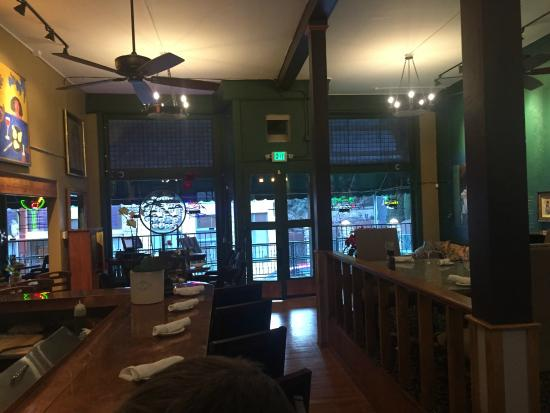 The Stock Exchange Saloon: the bar