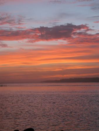 Sunset, Winchester Bay RV Resort
