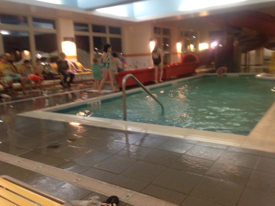 Fairfield Inn & Suites Moncton: Too cold to swim. What a shame