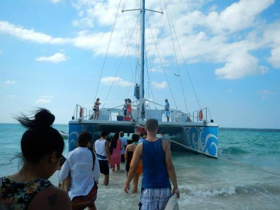 Island Routes Caribbean Adventures - Jamaica: Loved our Private Catamaran!