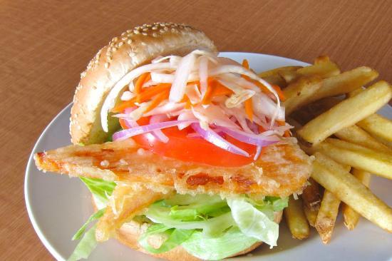 Burger and Bento: YamBurger