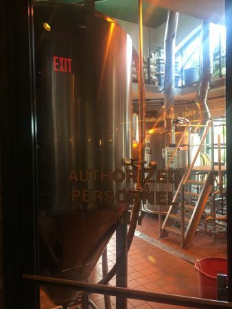 Big Bear Brewing Company: One half of their brewery