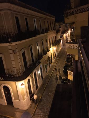 El patio: View from the rooftop