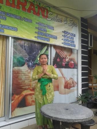 Anturan, Indonesia: welcome to kirani salon and spa