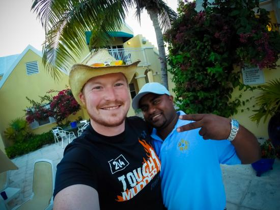 Reef Residences on Grace Bay: Awesome Staff, expecessially this guy!