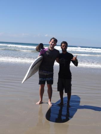 Del Soul Surf School: Amit and me!