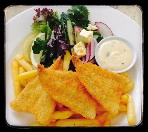 Bellissimo Mooloolaba: Whiting fillets - delicious!