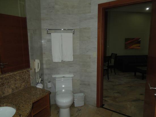 Aparthotel Torres de Alba: Rm 3143 bathroom