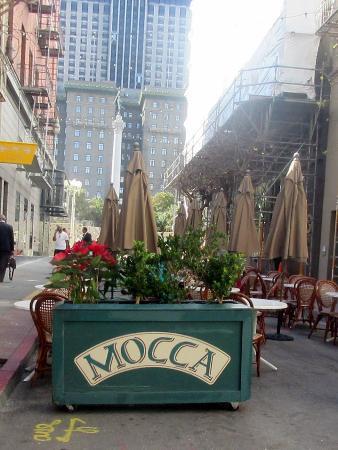 Mocca on Maiden Lane, San Francisco, Ca