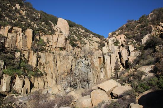 Lake Elsinore, CA: Ortega Falls - Dry - January