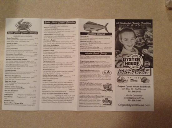 Oyster House Menu 28 Images Acme Oyster House Covington Food Dat Oyster House Philadelphia