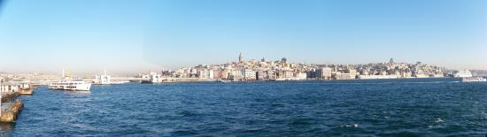 Istanbul, Turkey: Golden Horn panorama