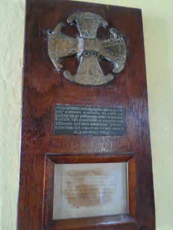 St John's Cathedral: Replica of historic early cross