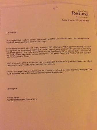 Letter That I Got