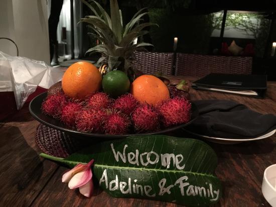 Kembali Villas: Warm welcome