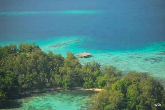 Fatboys Resort: Aerial view of Fatboys