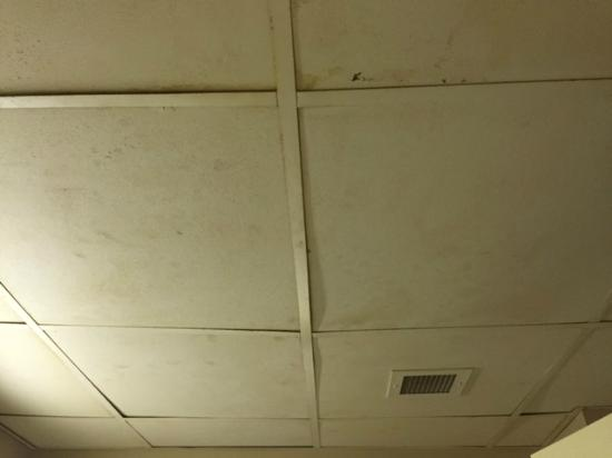 Country Inn & Suites By Carlson, Chattanooga I-24 West: Bathroom ceiling is scary