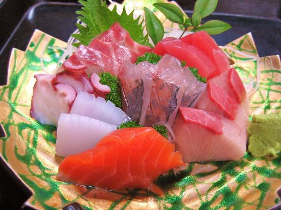 Minshuku Magusa: 海の幸1泊2食付きプランの一例