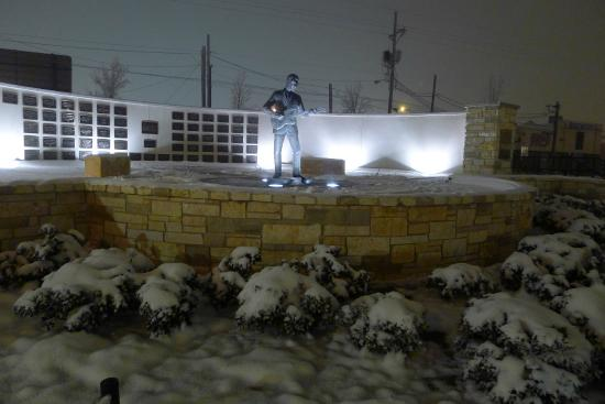 Buddy Holly Statue and West Texas Walk of Fame: Pioneer of Rock and Roll