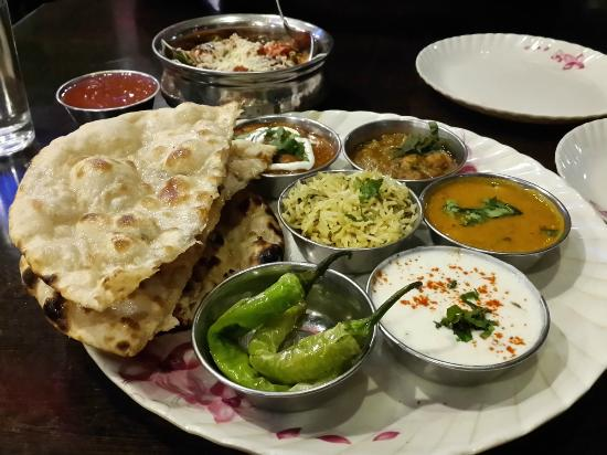 Best food thali must to have shree annapurna restaurant for Annapurna cuisine