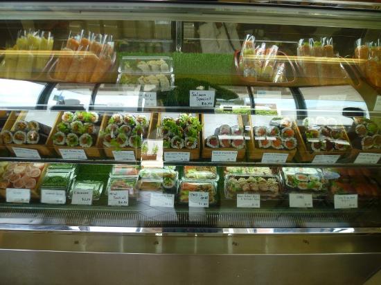 Sushi Paradise: 豪華に並んだロール巻き