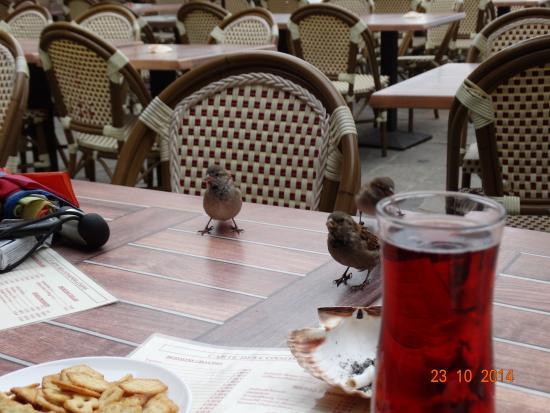 Restaurant de l'hotel Croix Blanche : Кир