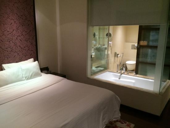Hotel Royal Orchid, Jaipur: vue de la chambre
