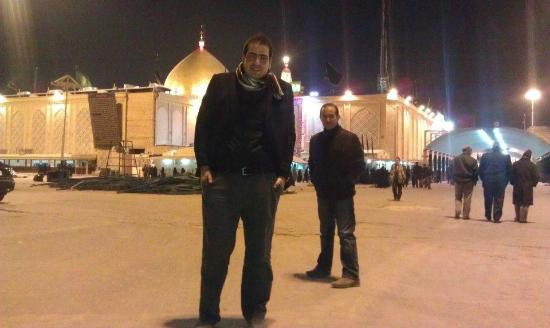Najaf, Irak: From the surrounding area of the shrine during winter