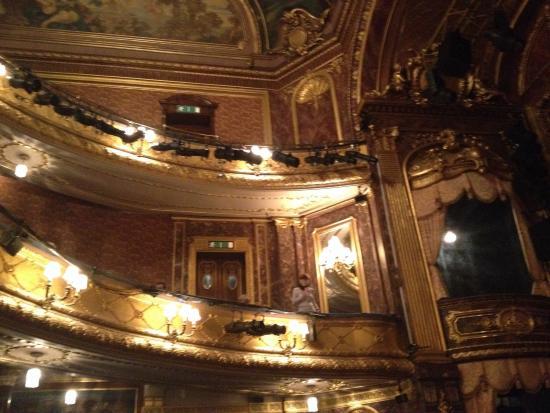 Haymarket Theatre Royal: Durante el intermedio