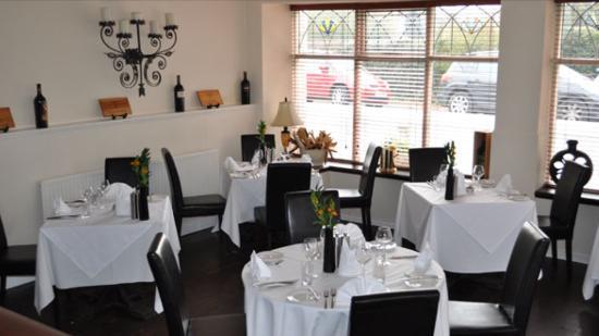 39 Steps Restaurant: intimate