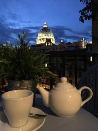 Alle Fornaci a San Pietro - Bed & Breakfast: View from balcony of room Dome