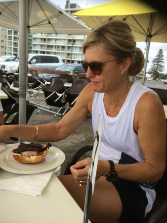 Beach Bums Cafe : Breakfast