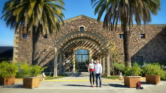 Black Stallion Winery: Entrance to the tasting room