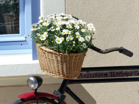Auberge de Trente Pas : vélo et façade